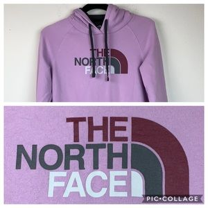 The North Face logo graphic hoodie sweatshirt S